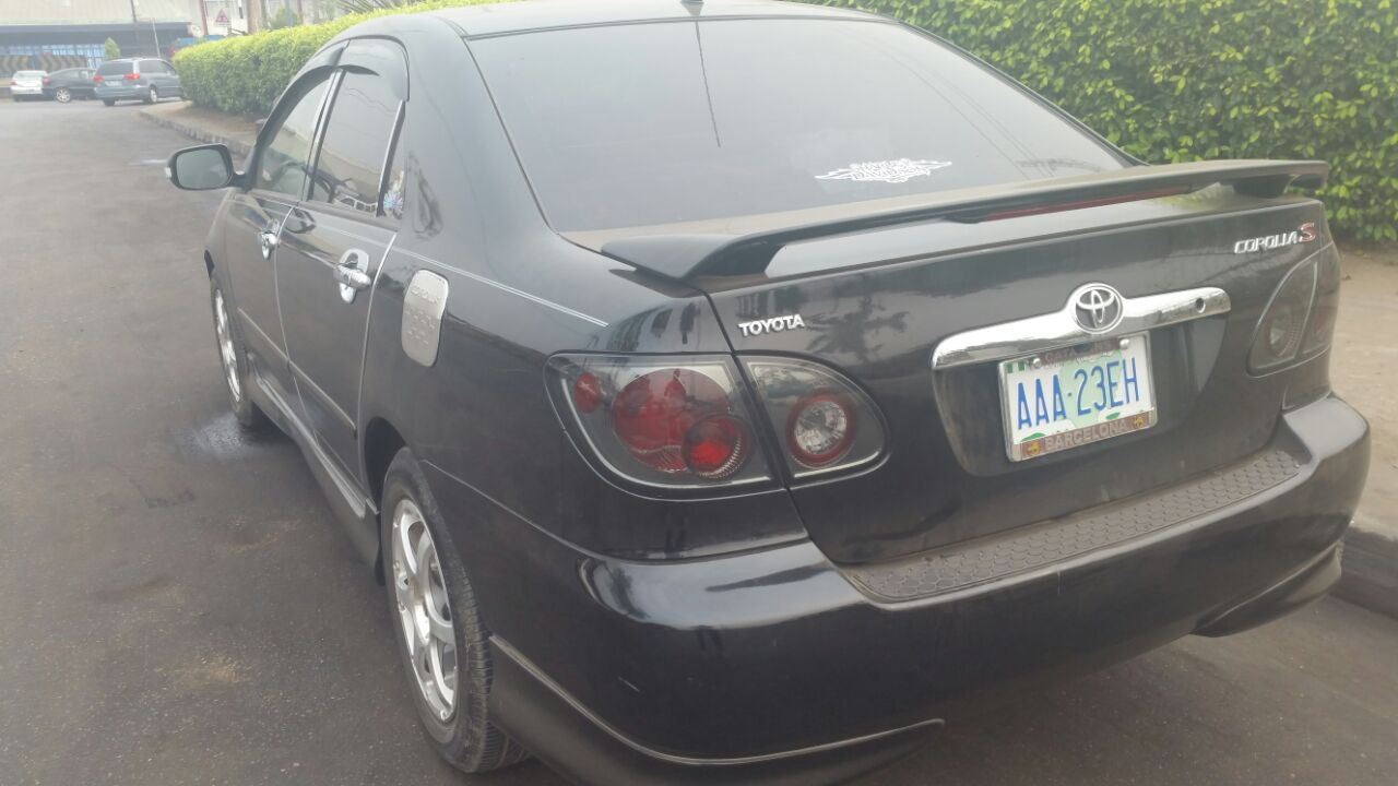 Leather Interior Toyota Corolla Sport 2005 Just For Just N2m Autos Nigeria