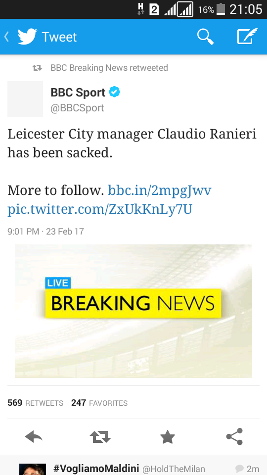 Manager Ranieri Sacked By Champions Leicester 4911087_screenshot20170223210502_png894be7f28542575cf3e80adb054084e5