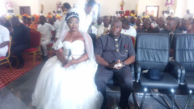 Governor Dickson's Boobful Sister Weds Member Of Bayelsa House Of Assembly (Pics)