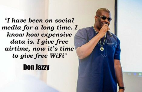 Don Jazzy Launches Free Wifi, Says 'I Know How Expensive Data Is