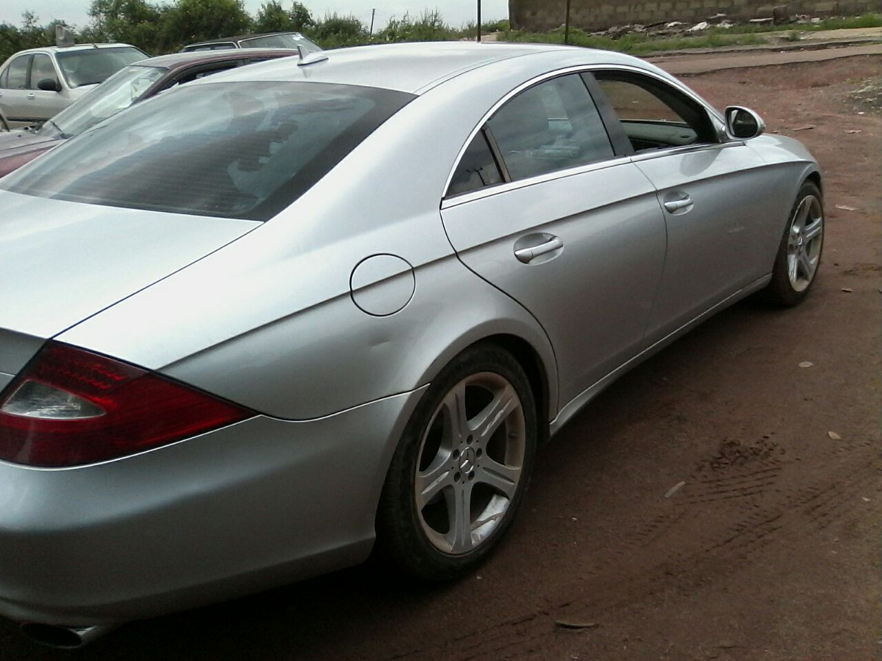 mercedes bezs 2007 cls 550 used autos nigeria. Black Bedroom Furniture Sets. Home Design Ideas