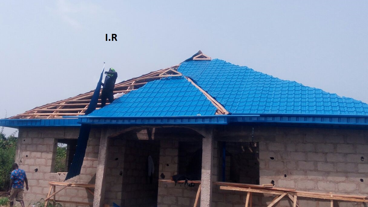 Roofing Your House With Aluminium Sheets Call Whatsaap For