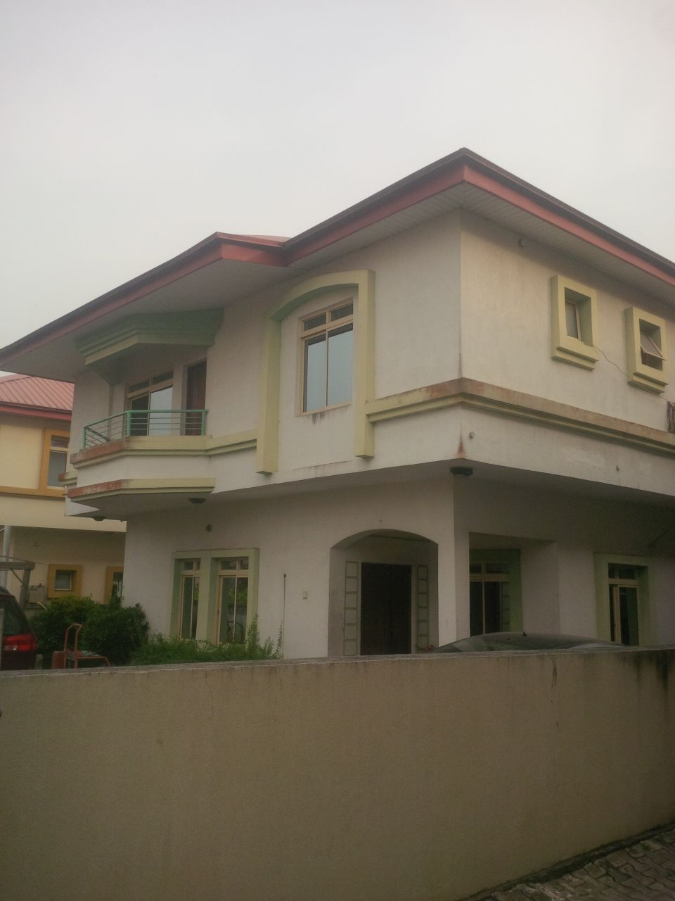 Five bed room duplex for sale in ajah properties nigeria for How much does it cost to build a duplex