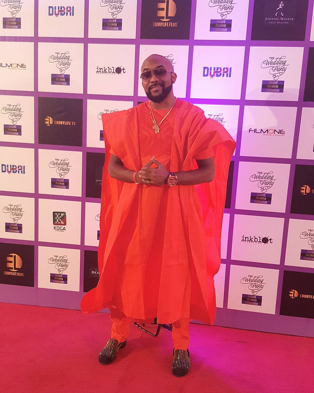 Photos From The Fire Incident At Banky W's Home In Lekki