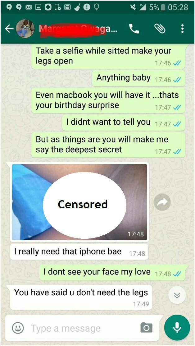 Nude chat iphone