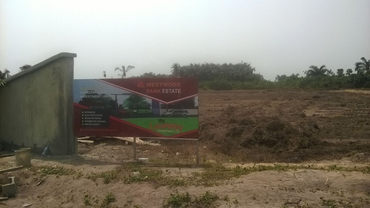 Secure A Plot In Westwood Park Estate Phase 2 C Of O