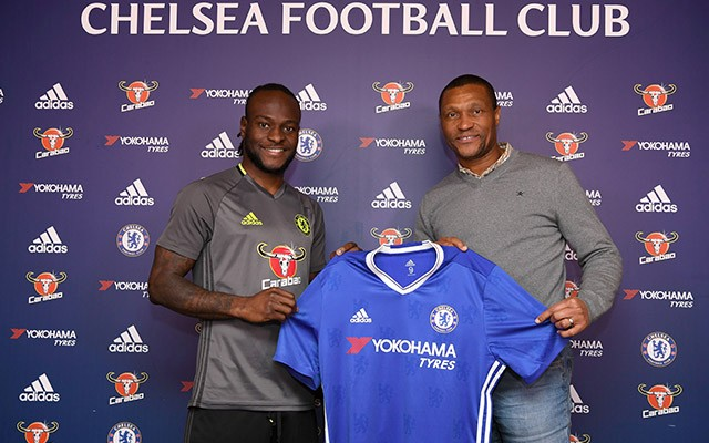 Victor Moses Extends Contract With Chelsea (Photos)