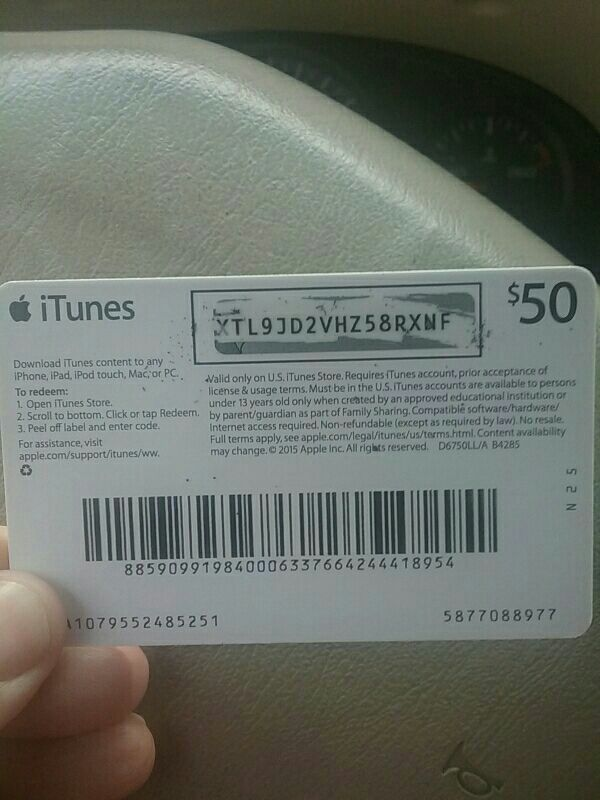I buy itunes gift card amazon and other gift card for cash 1 like negle Images