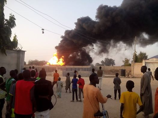 Multiple Bomb Blasts Rock Maiduguri