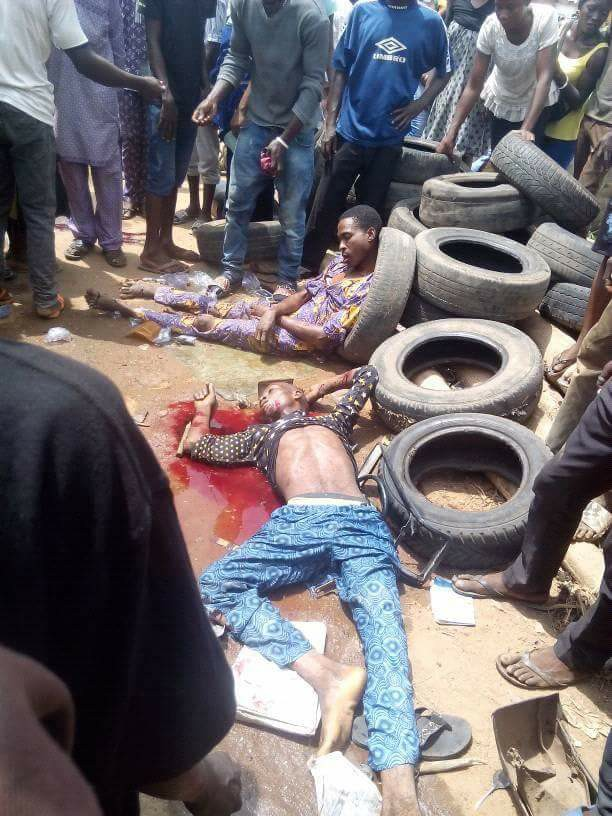 Us 129 Crashes: Fatal Accident In Ibadan Kills 4 People (Graphic Photos