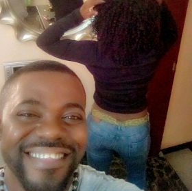 Abounce Shows Yvonne Jegede's Backside In New Photos