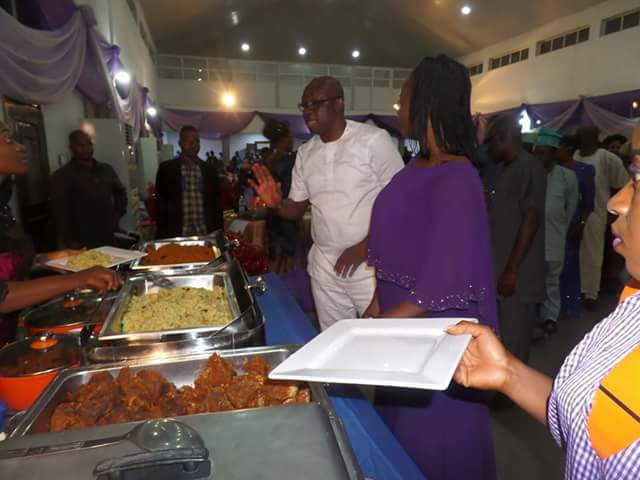 World Women's Day: Fayose & Wife Host Ekiti Women To A Special Dinner