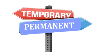 how to successfully turn your temporary job to permanent career