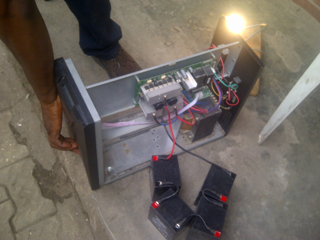 How To Create A Locally Made Inverter With Ease Science Technology Digital Ups Circuit Diagram 48v Blue Gate