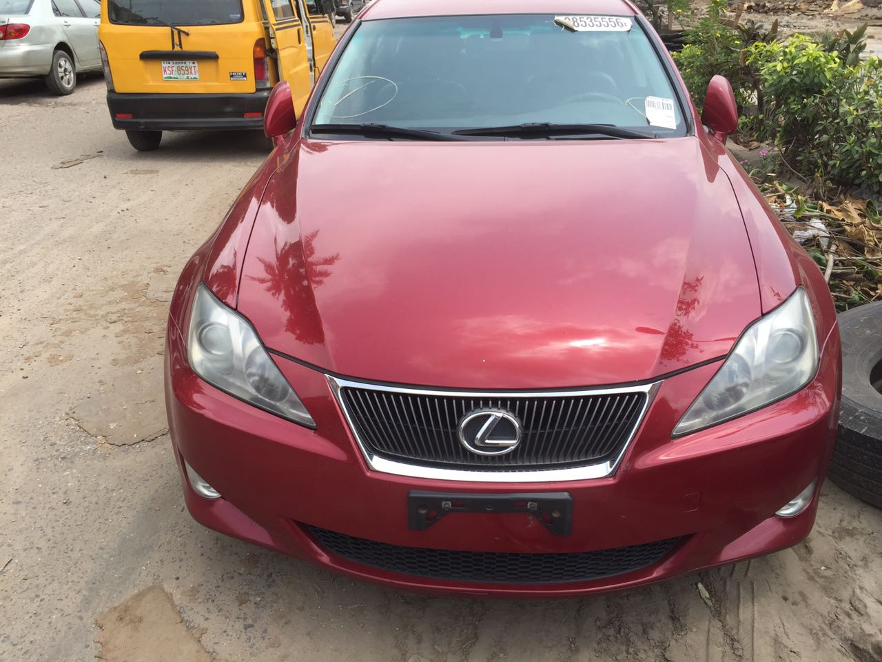 super clean 2007 lexus is 250 awd for sale toks 4 5 m negotiable autos nigeria. Black Bedroom Furniture Sets. Home Design Ideas
