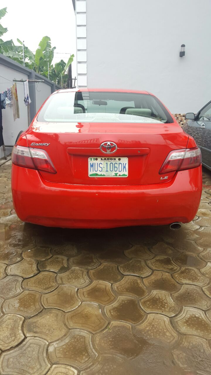 extremely clean toyota camry 2008 model for grabs autos nigeria. Black Bedroom Furniture Sets. Home Design Ideas