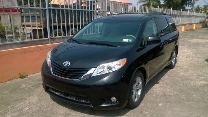 2011 Toyota Sienna LE 3 5L FWD For Sale Asking Price N5m