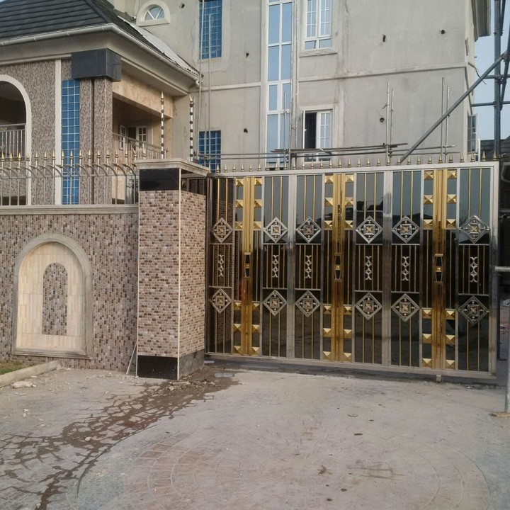 Home Design Gate Ideas: Beautiful Stainless Steel Gate Designs Made By Virlibaq