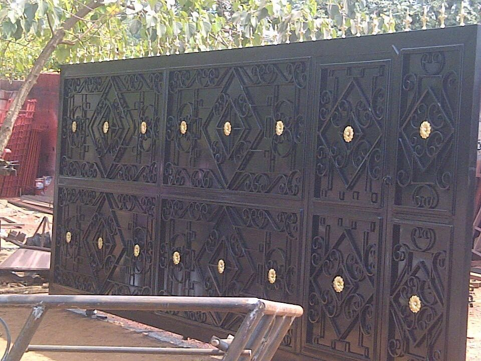 Home Design Gate Ideas: Beautiful Wrought Iron Gate Designs By Virlibaq