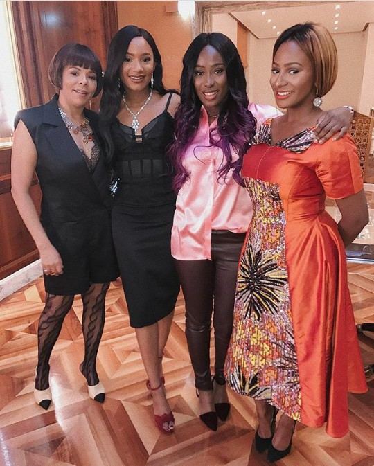 The Otedola Ladies Step Out In Style For Temi Otedola's Tea Party
