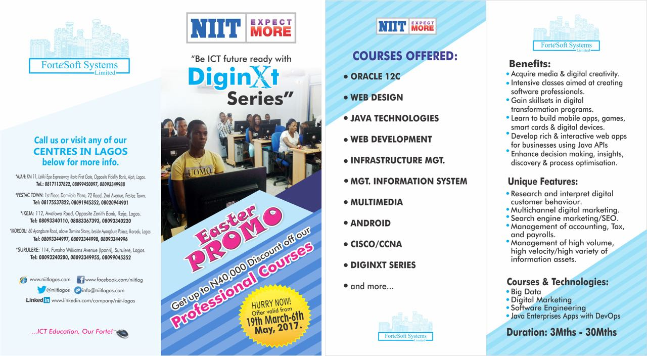 National Institute of Information Technology NIIT Akure ...