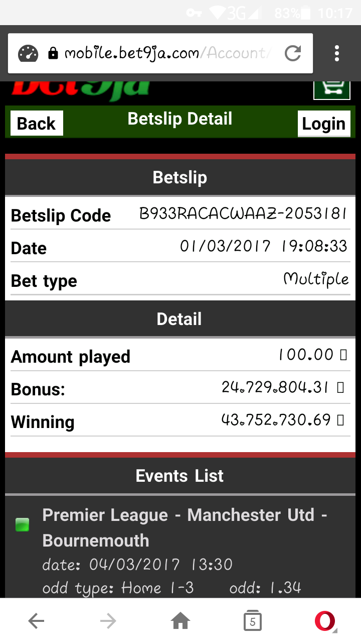 A Girl Wins 43million In Bet9ja - Sports - Nigeria