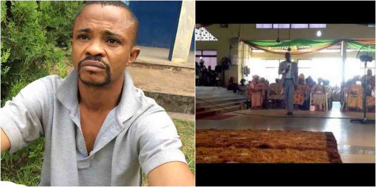 Pastor Trying To Bomb His Church In Edo, Arrested (Photos)