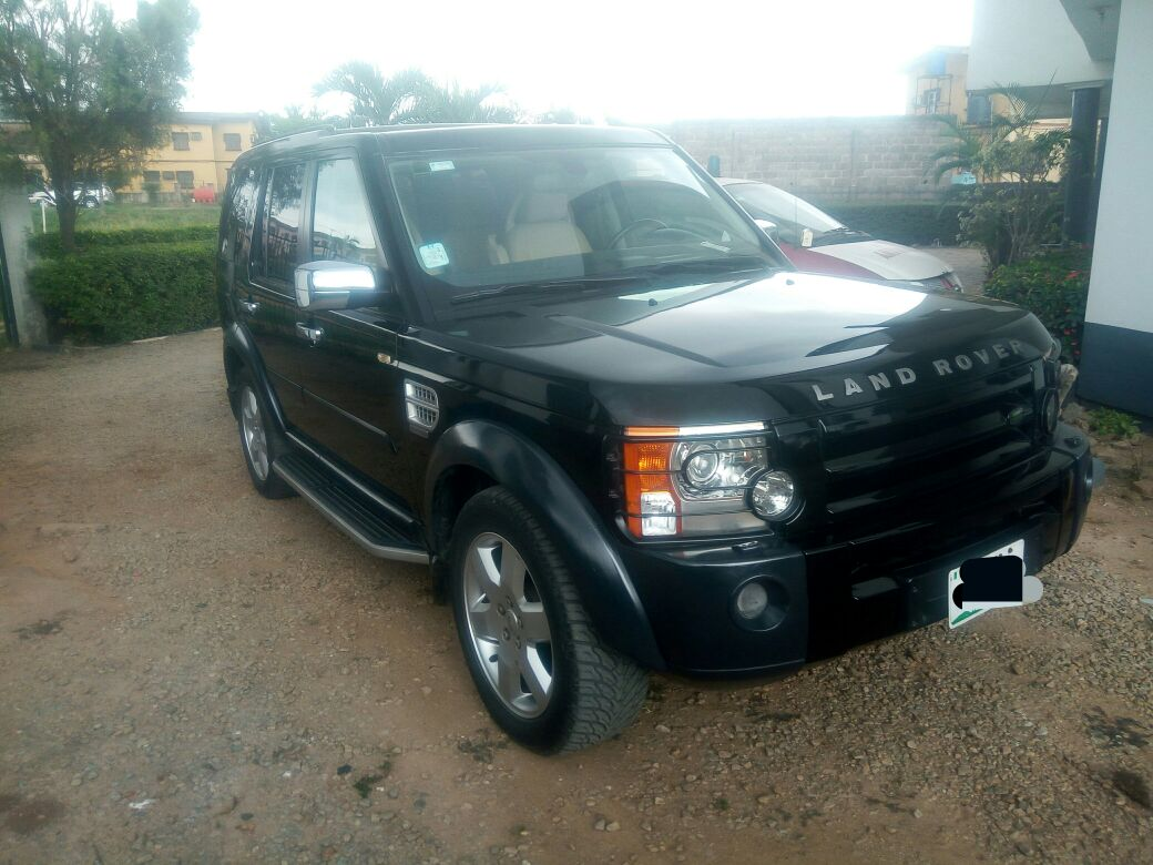 well pampered 2005 lr3 for sale autos nigeria. Black Bedroom Furniture Sets. Home Design Ideas