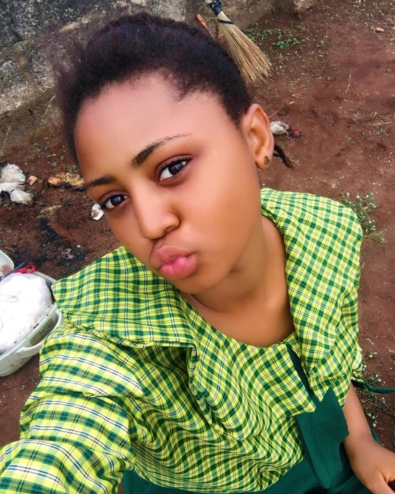 Image result for regina daniels in uniform