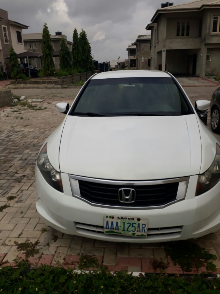 Clean Honda Accord Evil Spirit 2011 Model For Sale