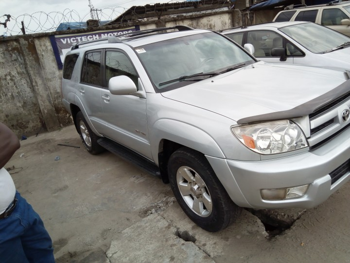 used toyota 4runner price 07067339495 very clean. Black Bedroom Furniture Sets. Home Design Ideas