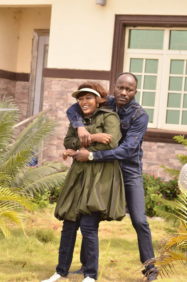 Apostle Suleman & His Wife, Lizzy Loved Up Like Never Before In New Photos
