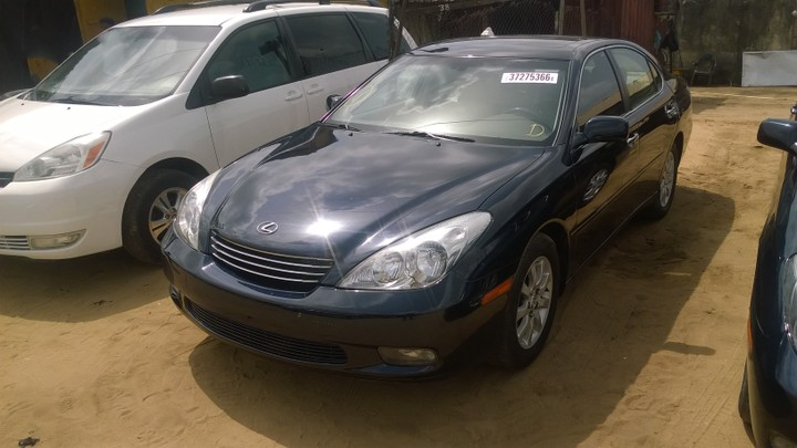 2003 lexus es300 3 0l fwd for sale asking see pictures autos nigeria. Black Bedroom Furniture Sets. Home Design Ideas