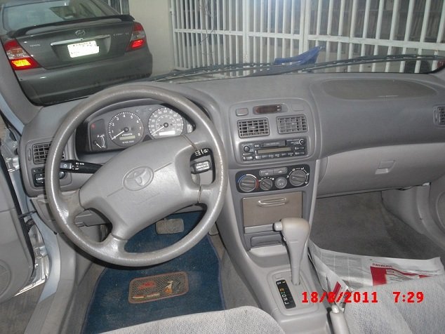 Sold Sold Extra Neat 2001 Toyota Corolla For Sale Sold Sold Sold Autos Nigeria