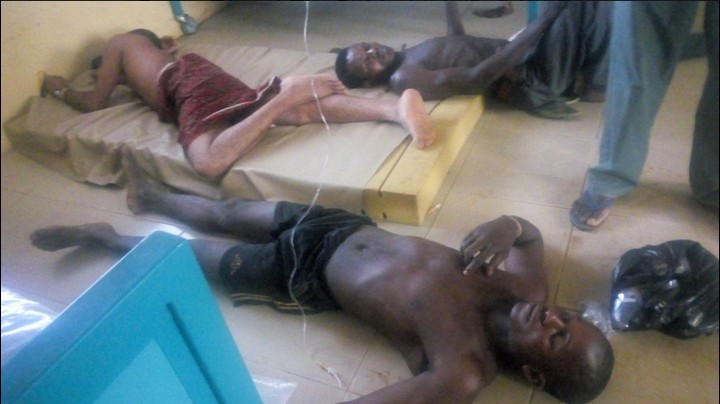 Photos Of Victims Of Food Poisoning At A Restaurant In Cross River