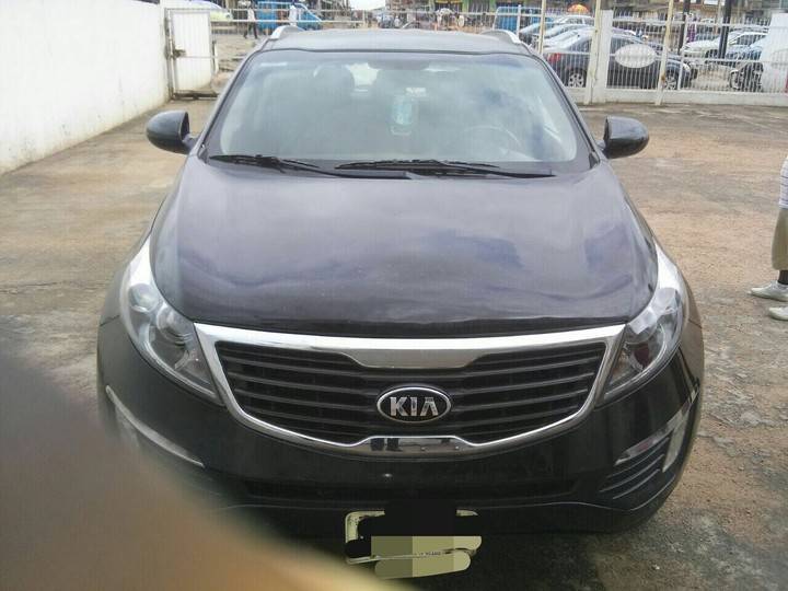 super sharp 2013 kia sportage for sale autos nigeria. Black Bedroom Furniture Sets. Home Design Ideas