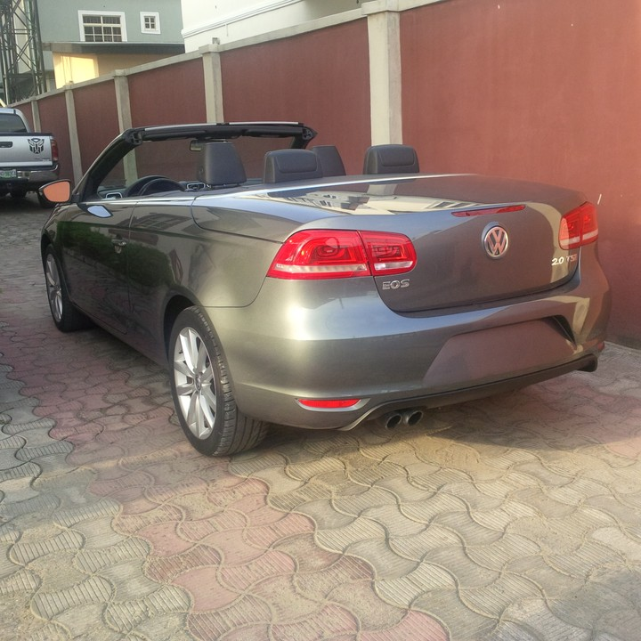 2012 volkswagen eos convertible for sale tokunbo autos nigeria. Black Bedroom Furniture Sets. Home Design Ideas