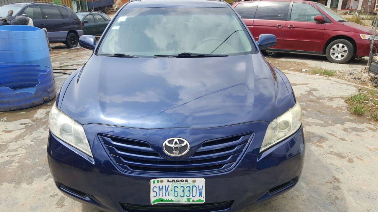 super clean toyota camry camry 2008 model used autos nigeria. Black Bedroom Furniture Sets. Home Design Ideas