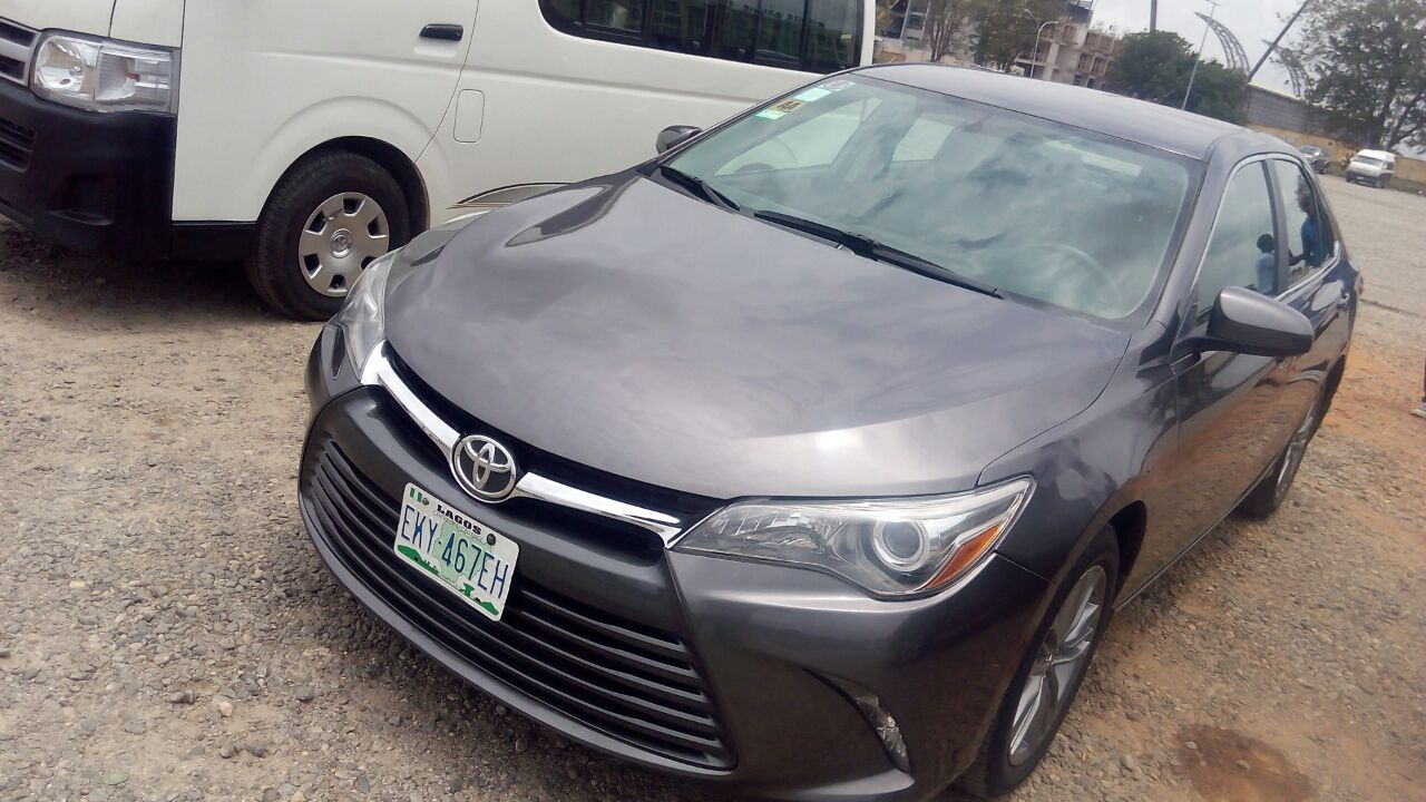 super neat 2015 toyota camry sports edition registered but mint autos nigeria. Black Bedroom Furniture Sets. Home Design Ideas
