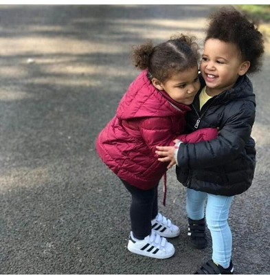 Image result for Mikel Obi's daughters are too cute!