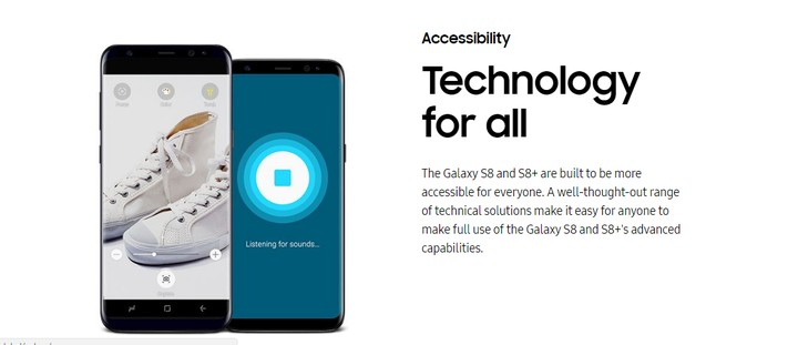 Samsung Unveils Galaxy S8 and S8+