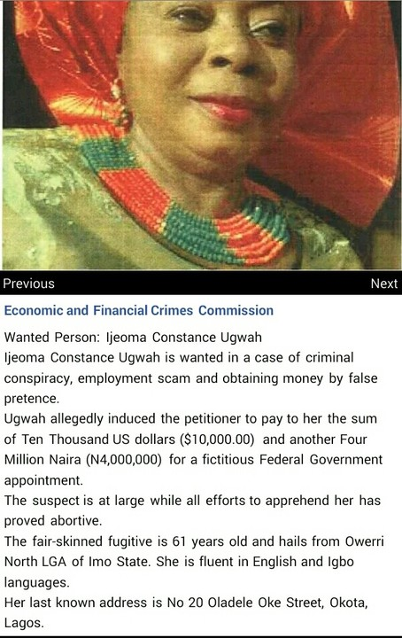 5080667_img20170330151328_jpeg87a175ec1c659a7e910ccaf9b43666c9 EFCC Declared 61Years Old Ijeoma Constance Ugwah Wanted For Fraud (Pics)