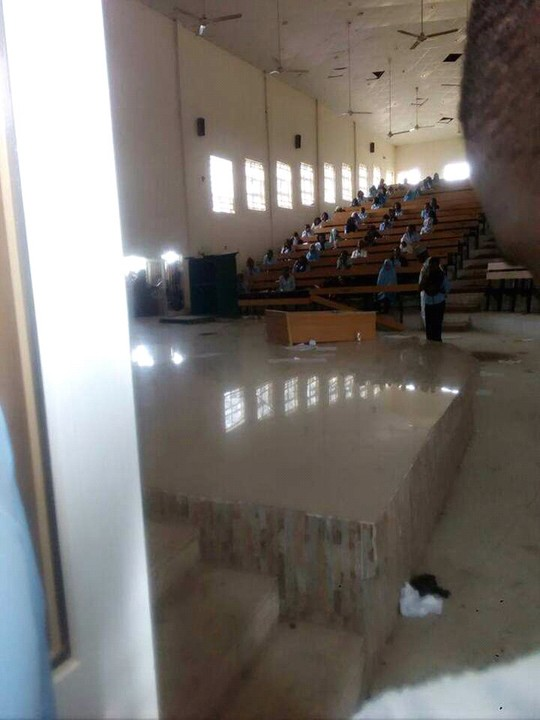 Seating Arrangement In Examination Hall In Uniabuja Photos