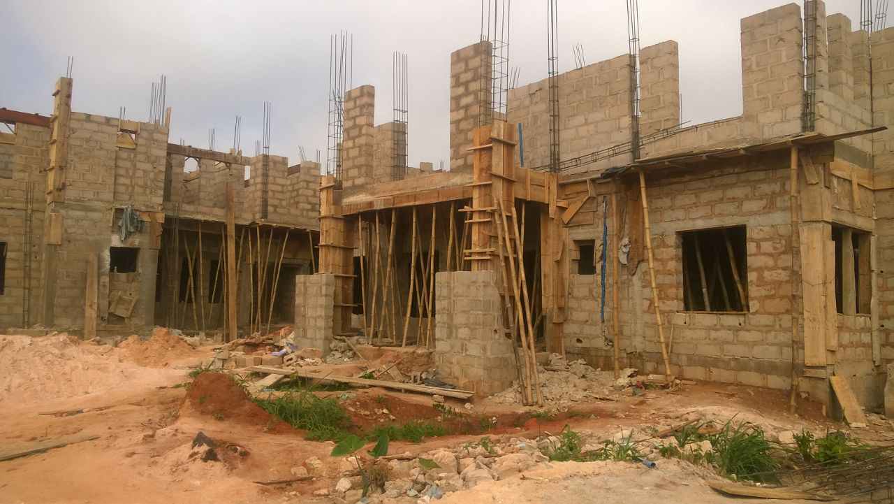 Updated images of the benin project its a large house