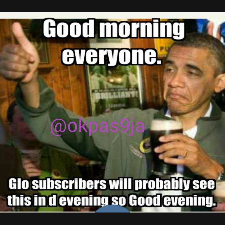 Good evening nairalanders and to glo users good morning jokes etc 1 like altavistaventures Images