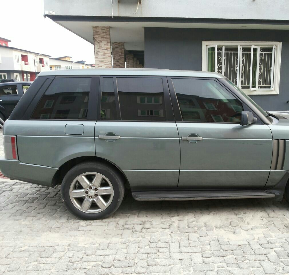 Rover range rover 2005 : Range Rover 2005 For Sale (owner Relocating Abroad) - Autos - Nigeria