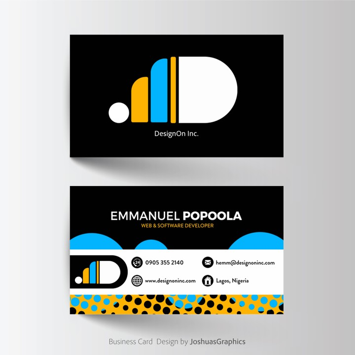 Rate this business cards design out of 10 art graphics video rate this business cards design out of 10 art graphics video nigeria reheart Image collections