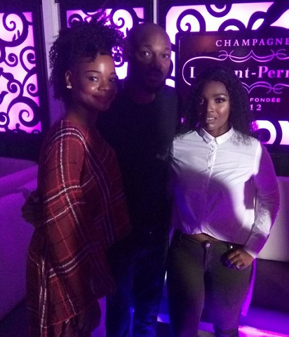 Stunning Photos of Olajumoke with 2face Idibia and his Wife Annie At The Royal Highness Album Release Party