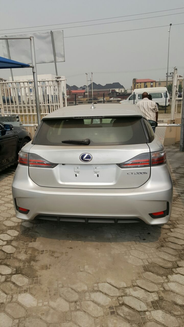 Tokunbo 2010 lexus ct200h hatchback up for grabs amazingly superb the lexus ct 200h is a hybrid electric automobile introduced by lexus as a premium sport compact hatchback as fresh as new low mileage chilling ac publicscrutiny Images