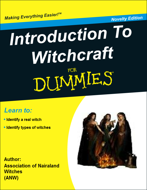 Introduction To Witchcraft
